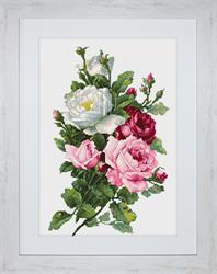 Borduurpakket Bouquet of Roses - Luca-S