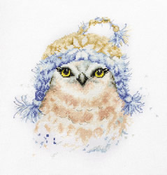 Borduurpakket The Owl - Luca-S