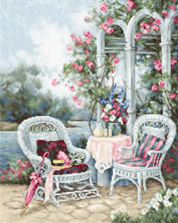Cross stitch kit Victorian Memories - Luca-S