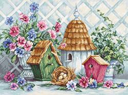 Borduurpakket Garden Nestin - Luca-S