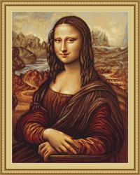 Cross Stitch Kit Mona Lisa - Luca-S