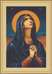 Borduurpakket Joy to All the Afflicted - Icon of the Mother of God - Luca-S