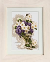 Borduurpakket Jasmine Flowers - Luca-S
