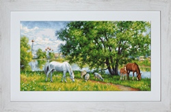 Cross Stitch Kit Pastoral - Luca-S