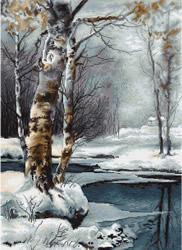 Borduurpakket The Winter - Luca-S