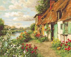 Borduurpakket Landscape - Luca-S