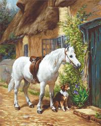 Borduurpakket By the Cottage - Luca-S