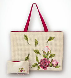 Borduurpakket Bag Rose - Luca-S