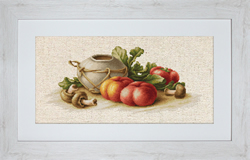 Cross Stitch Kit Still Life with Vegetables - Luca-S