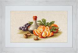 Borduurpakket Still Life with Oranges - Luca-S