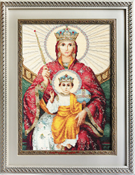 Borduurpakket Icon of the Mother of God Reigning - Luca-S