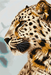 Cross stitch kit The Leopard - Luca-S