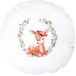 Cushion Cross Stitch Kit Deer - Luca-S
