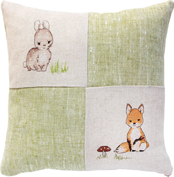 Kussenpakket Bunny and Fox - Luca-S