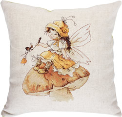 Borduurpakket Pillow The Fairy - Luca-S