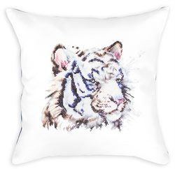 Kussenpakket Cushion White Tiger - Luca-S