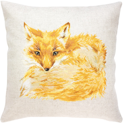 Borduurpakket Pillow Fox - Luca-S