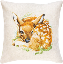 Borduurpakket Pillow Deer - Luca-S