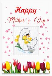 Borduurpakket Happy Mother`s Day - Luca-S