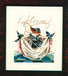 Borduurpatroon Savannah's Curtsy - Mirabilia Designs