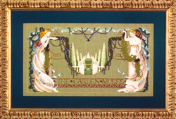 Borduurpatroon The Garden Muses - Mirabilia Designs
