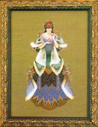 Borduurpatroon The Scent of Old Roses - Mirabilia Designs