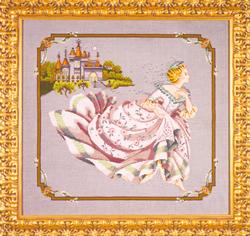 Cross Stitch Chart Cinderella - Mirabilia Designs