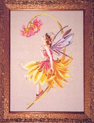 Cross Stitch Chart The Petal Fairy - Mirabilia Designs