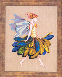 Borduurpatroon The Feather Fairy - Mirabilia Designs