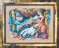Borduurpatroon Athena, Goddess of Wisdom - Mirabilia Designs