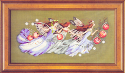 Borduurpatroon Shakespeare's Fairies - Mirabilia Designs