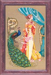 Cross Stitch Chart Lady Hera - Mirabilia Designs