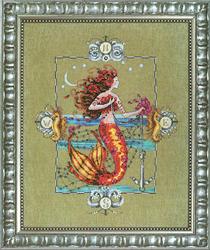 Cross Stitch Chart Gypsy Mermaid - Mirabilia Designs