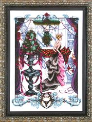 Borduurpatroon Christmas in London - Mirabilia Designs