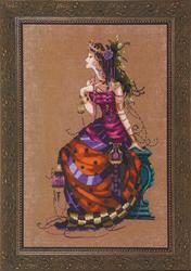 Cross Stitch Chart The Gypsy Queen - Mirabilia Designs