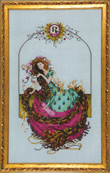 Cross Stitch Chart Rapunzel - Mirabilia Designs