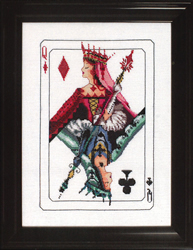 Cross stitch chart Royal Games II - Mirabilia Designs