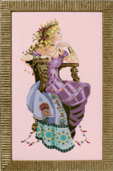Cross stitch chart Sun Goddess - Mirabilia Designs