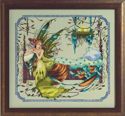 Cross stitch chart Mooka - Mirabilia Designs