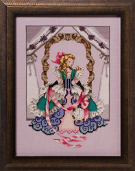 Cross stitch chart Alice - Mirabilia Designs