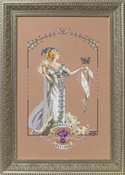 Borduurpatroon Lady Mirabilia - Mirabilia Designs