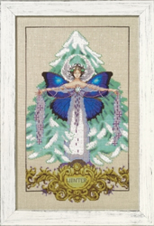 Cross stitch chart Winter Love - Mirabilia Designs
