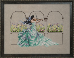 Cross stitch chart Garden Prelude - Mirabilia Designs