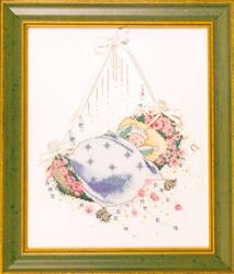 Borduurpatroon Rosebud Lullaby - Mirabilia Designs
