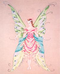Cross Stitch Chart Fairy Roses - Mirabilia Designs