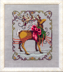 Cross Stitch Chart Vixen - Mirabilia Designs