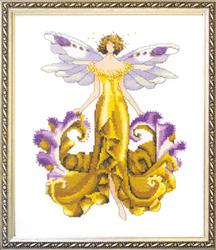 Cross Stitch Chart Iris - Mirabilia Designs