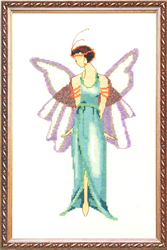 Borduurpatroon Jade Blue - Mirabilia Designs