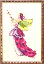 Borduurpatroon Orchid - Mirabilia Designs