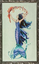 Cross Stitch Chart Petite Mermaid Collection - Sea Flora - Mirabilia Designs